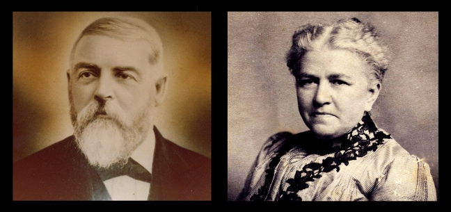 Clara's parents, George Henry Murray and Olive Purinton Murray